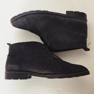 EARTH WORKS CANADA Genuine Suede Lace Up Boots